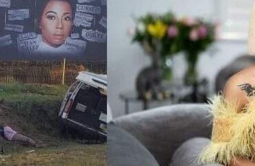 Kelly khumalo accident at Billboard