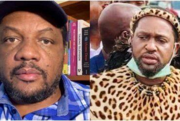 Hopewell Chin'ono is Prince Misuzulu Zulu doppelganger