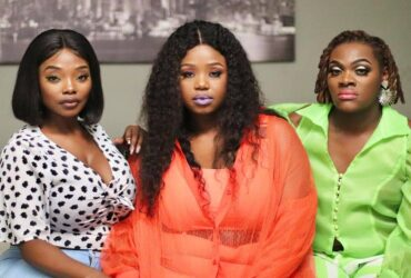 Nompilo and her colleagues from Uzalo on the far left we have Khaya Dladla known as GC