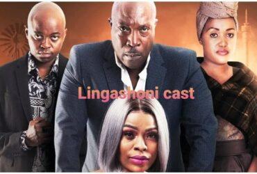 Lingashoni cast with Patrick Mofokeng