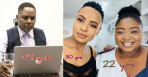 Durban Gen actors and their ages