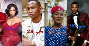 Gomora actors,  roles and their ages