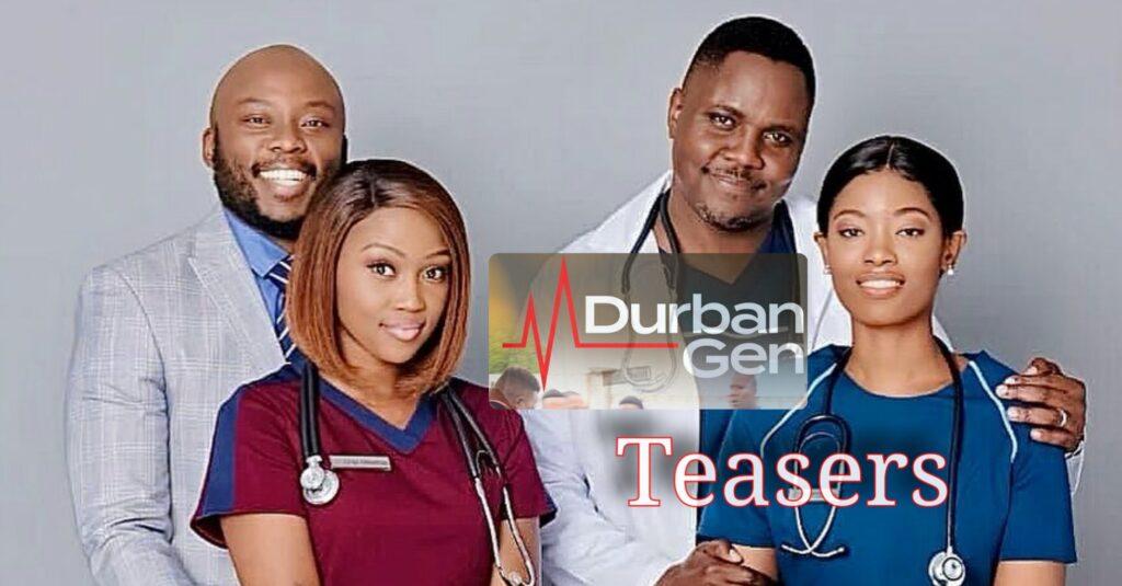 Durban Gen teasers for September