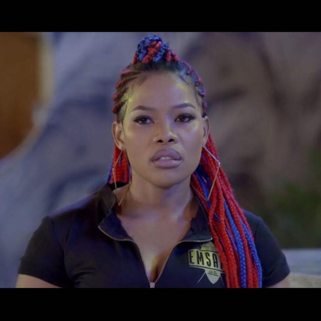 Goldivah as Lindiwe Msweli from Imbewu the seed - real name- Ntokozo Mzulwini