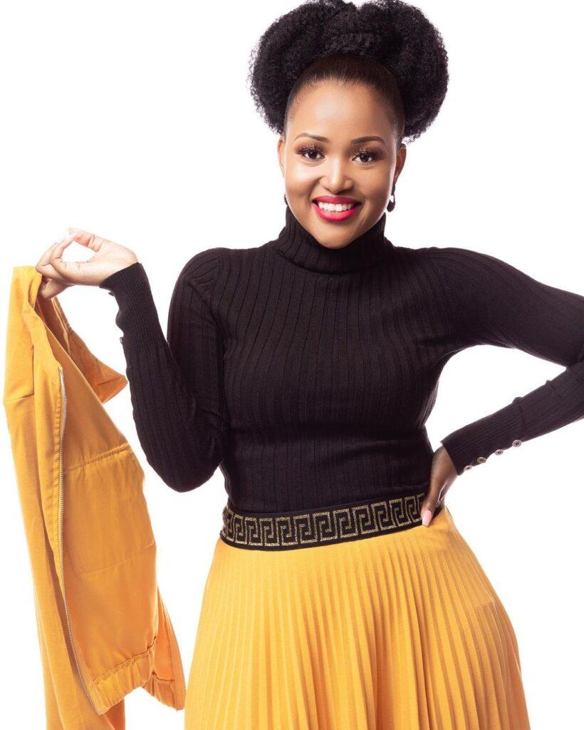 Image of Liteboho Malise who is Teboho Mukwevho on Muvhango or Seipati Moeketsi on Lingashoni