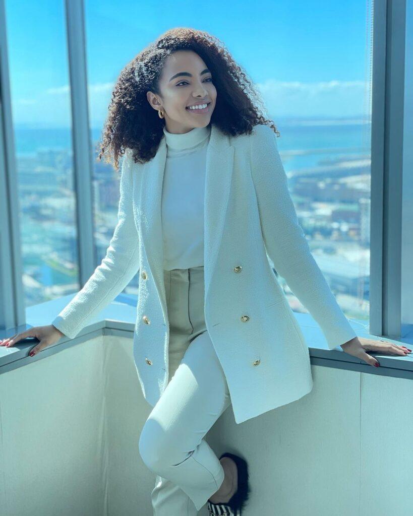 "Amanda Dupont well-known as ""Lelo"" in SABC 1 Soapie Skeem Sam"
