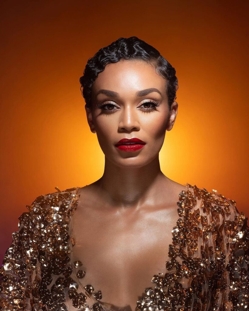 Image of beautiful well-known South African actress Pearl Thusi